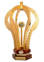 Crown Platinum Trophy For Excellent Quality And Innovation England-London 2012